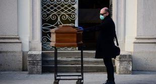 Strange pneumonia seen in Lombardy in November