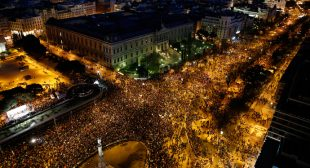 17 arrested, 27 injured in Madrid clashes after massive march against austerity