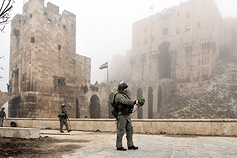 Ancient citadel of Aleppo demined