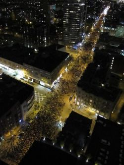 Fifteen thousand take to Montreal streets again in Canada