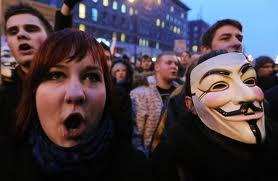 Trade Unions block Polish parliament after Retirement age vote