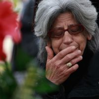 60-year-old Greek musician and his 91-year-old mother jump to their deaths because of financial crisis