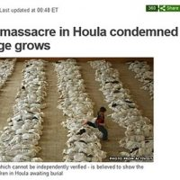 BBC News uses Iraq photo to illustrate 'Syrian massacre'