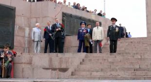 Kherson governor calls Hitler 'liberator' addressing veterans on Victory Day