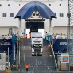 Northern Ireland suspends Brexit checks amid safety fears for port staff