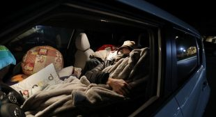 California's middle class homeless living in parking lots