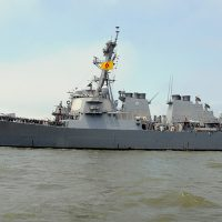 US deploys guided missile destroyer off Yemeni coast after attack on Saudi warship