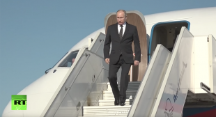 Putin orders withdrawal of Russian troops from Syria during surprise visit to Khmeimim Airbase