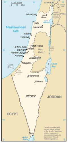 Israelis Protest Against War on Iran
