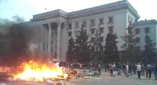 How Neo-Nazi Thugs Supported by Kiev Regime Killed Odessa Inhabitants. Photographic Evidence