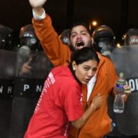 The President of Honduras Is Deploying U.S.-Trained Forces Against Election Protesters