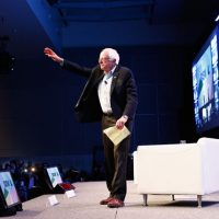 In Call for Peace Address, Bernie Sanders Takes on Endless War and Global Oligarchy