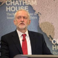 Jeremy Corbyn says Britain has not fought a just war since 1945