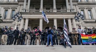 On Telegram, the Paramilitary Far Right Looks to Radicalize New Recruits Ahead of Inauguration Day