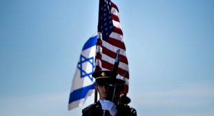 Why Does the United States Support Israel?