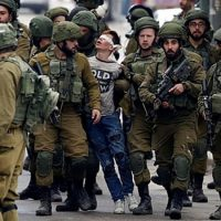 Detained Palestinian teen in viral photo to be sentenced in a court with a 99.74 percent conviction rate