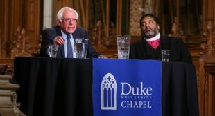 Recognizing Working Class Pain 'That Doesn't Make CNN,' Sanders and Rev. Barber Call for Building Truly Moral Economy
