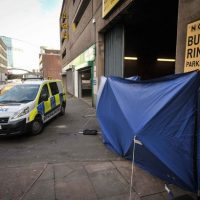 Tragedy of unknown homeless man found 'frozen to death' in city centre on coldest night of the year