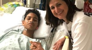 This 15-year-old Florida shooting survivor was shot 5 times while saving 20 of his classmates — and now his family is trying to raise $1 million for his hospital bills