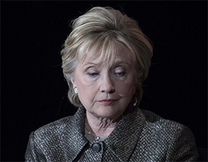 What happened? What happened?! You blew it, Hillary.
