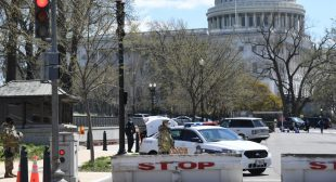 Suspect Reported Dead After Vehicle Rams Security Barrier, Injures Officers on Capitol Hill