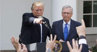 Trump rages at his former Republican allies in an off-the-rails interview