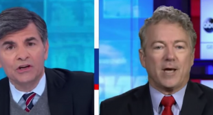 'You're saying we're all liars!' Rand Paul melts down on ABC when confronted with election 'lies'