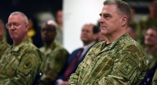 Top military advisor secretly had defense officials take an oath blocking Trump from launching nukes without his OK