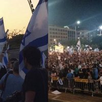 Thousands of Israelis Take to the Streets Calling for Palestinian Genocide