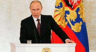 Putin: Crimea similar to Kosovo, West is rewriting its own rule book