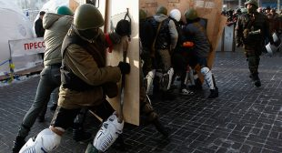 Concerns as Ukraine'€™s govt hastily revamps Maidan squads into National Guard