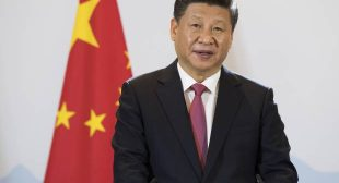 China steps up as global leader while the U.S. steps away
